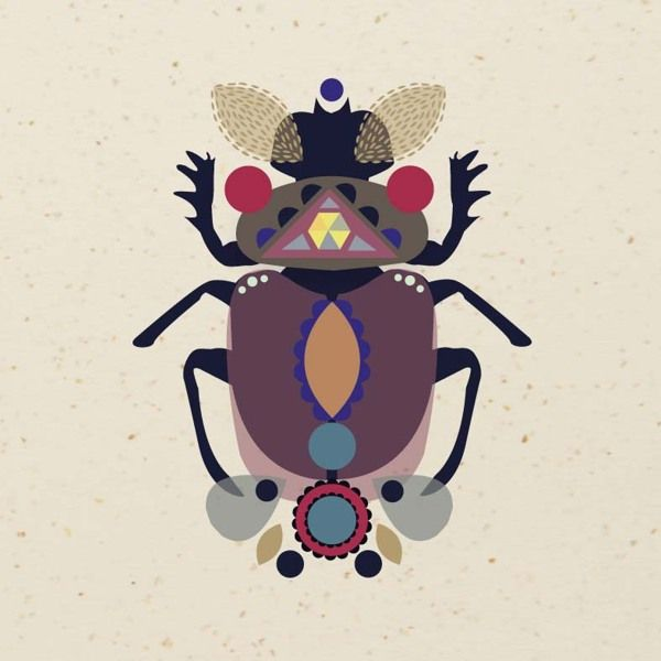 Insect by Anne Gandal, via Behance