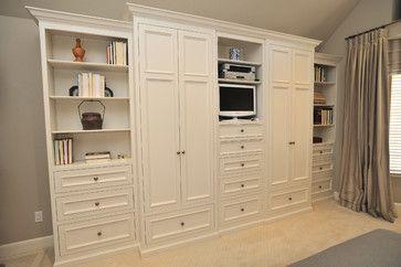 Master Bedroom Storage - contemporary - bedroom - san francisco - Alexandra Luhrs Interior Design