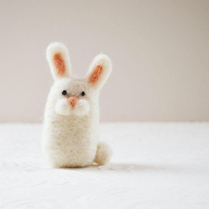 Items similar to Bunnykitts needle felted bunny