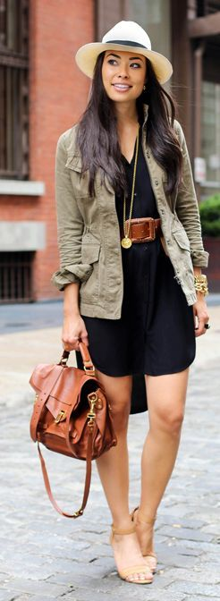 Summer To Fall Transition Outfit Idea by With Love From Kat