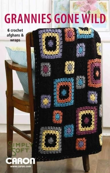 Everyone loves granny squares, but we bet you've never seen them like this before. Crocheted with Caron Simply Soft yarn, these creations are colorful, comfortable, and so much fun! From a bright flor