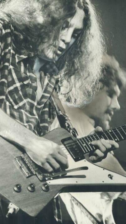 Allen Collins -Toronto Sun 1976