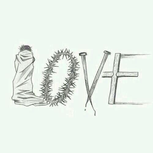 I do believe this is the best art work of the word love