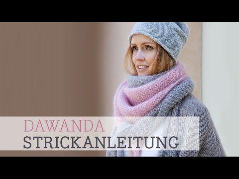 Strickblog www.will-stricken.de, Blog Stricken, Stricken mit Herz: Dreieckstuch - ganz einfach gestrickt
