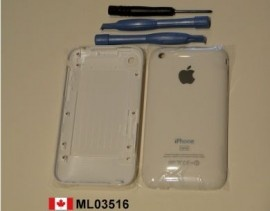 New White iPhone 3GS 32GB Back Rear Cover Housing + Tool  Price = $21.99