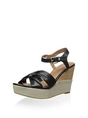 77% OFF Corso Como Women's Nani Wedge Sandal (Black)