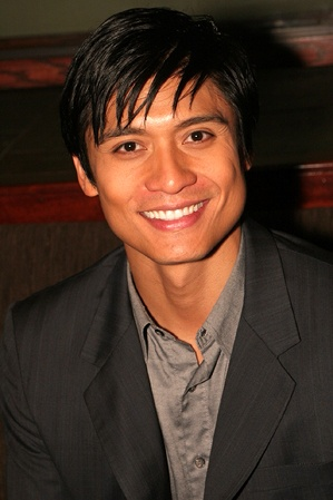 Paolo Montalban (who played Prince Christopher in the 1997 movie version of Rogers and Hammerstein's Cinderella) has the charm, the looks, AND the voice of a prince. :)