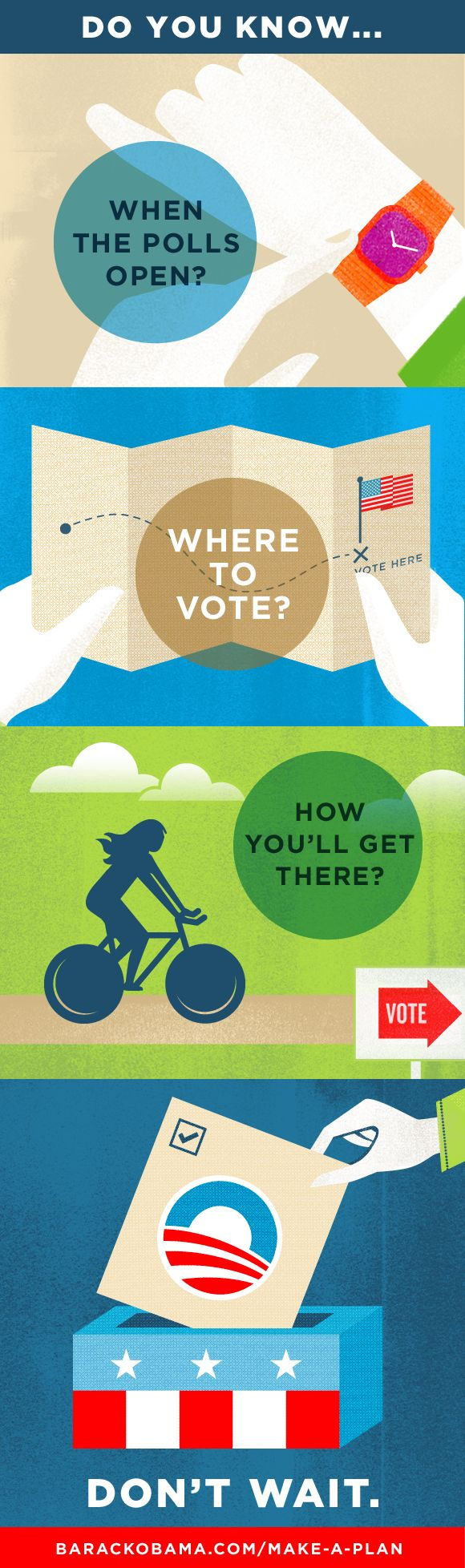 Obama Campaign, vote graphic. Way cool!  Cool Campaign. Rather it be for the other guy.