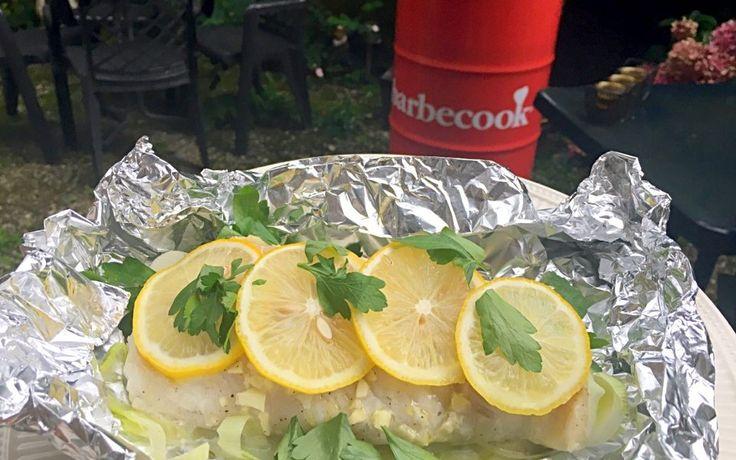Vis op de bbq: super lekkere kabeljauwpakketjes | Goodfoodlove