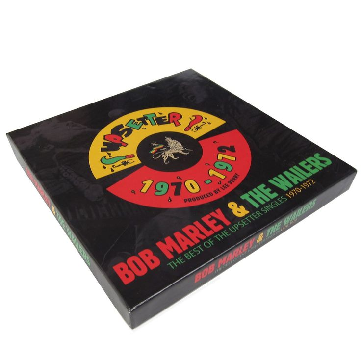 """Bob Marley: The Best Of The Upsetter Singles 1970-1972 (Lee Perry) 7x7"""" Boxset box"""