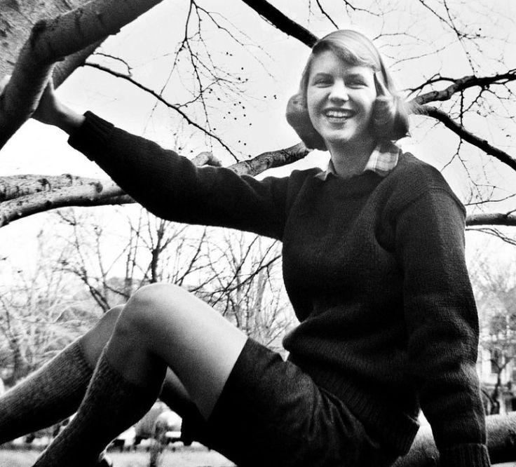 Sylvia Plath, September 1950