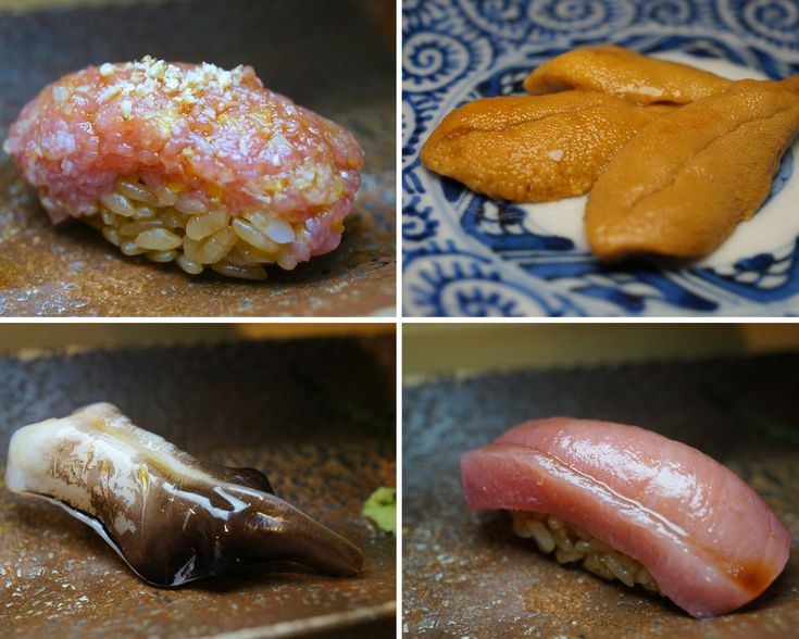 Chubby Hubby - Food Porn: what do they really serve you at Sushi Sho in Tokyo?: Restaurant Food