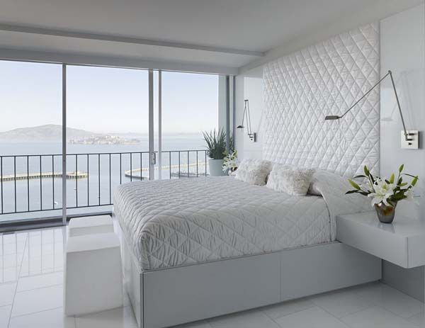 Best All White Bedroom Not Boring Design Idea Apartment Interior Design Modern Bedroom 400 x 300