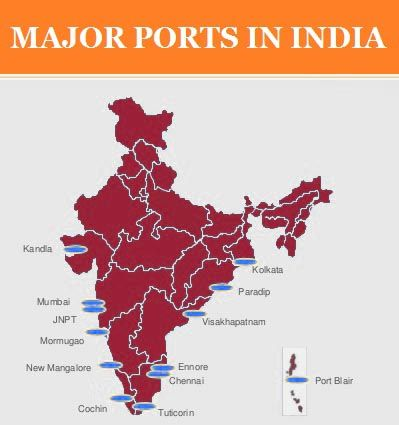 INDIA MAJOR PORTS: GK Questions and Answers - PSC WINNER