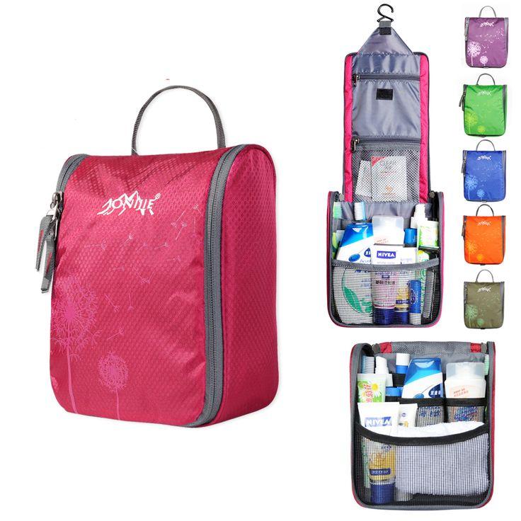 Neceser de maquillaje impermeable organizador de tocador bolsa de cosméticos para mujeres porta escolar para niños bolsa portátil de aseo para hombres en viaje