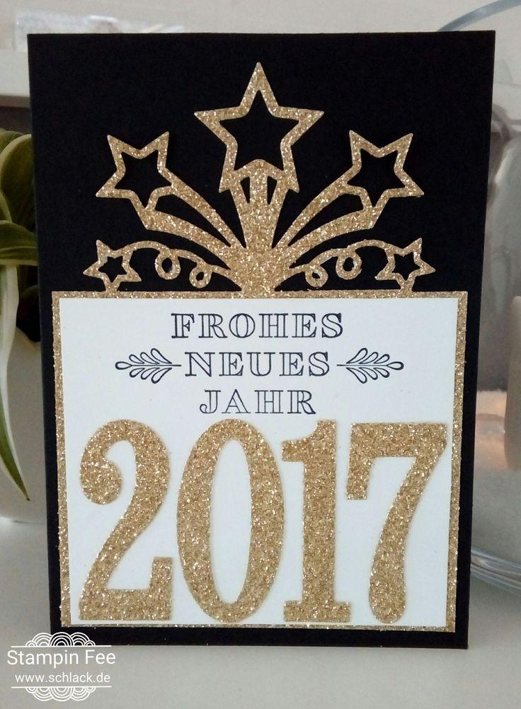 stampin happy new year Frosted Medallions occasions 2017  birthday blast   silvester wintermedaillions und frühjahrskatalog 2017 geburtstagsfeuerwerk framelits