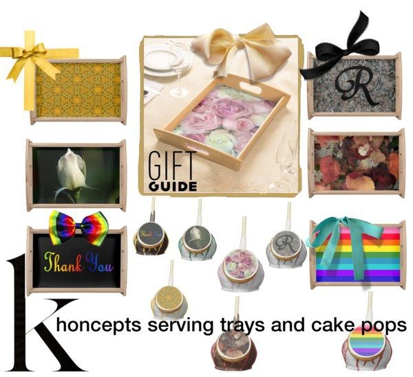 Khoncepts serving trays and cake pops party