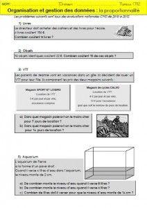 La proportionnalité : mémos et exercices pour les CM2 | MA MAITRESSE DE CM1-CM2