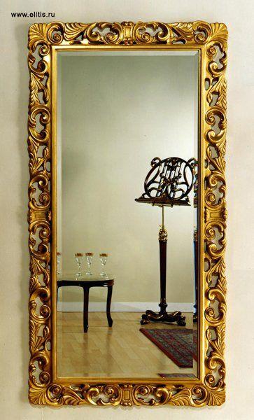 Большое зеркало в интерьере фото