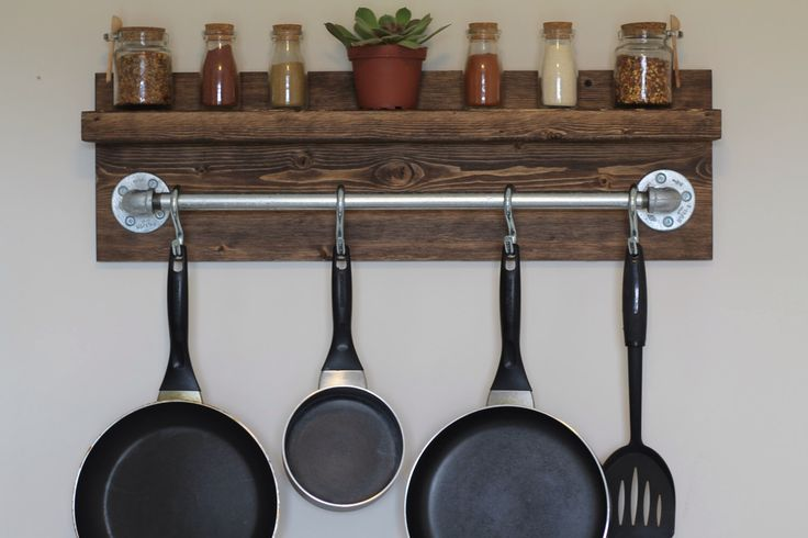 Best 25 Rustic Pot Racks Ideas On Pinterest Pot Rack