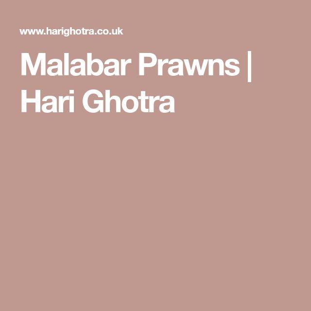 Malabar Prawns | Hari Ghotra