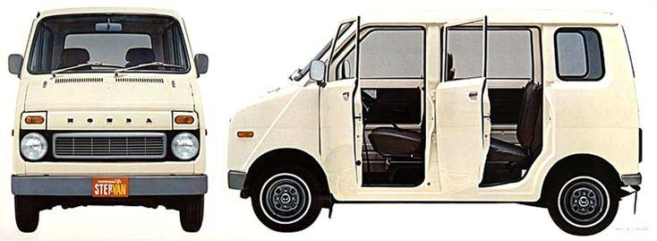 HONDA Life stepvan
