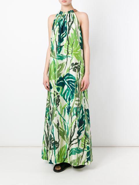 Erika Cavallini  floral print maxi dress