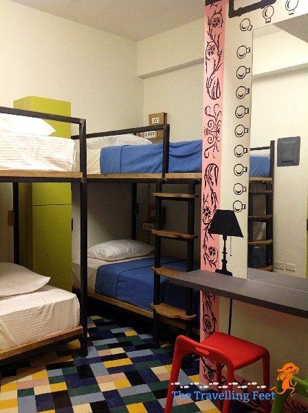 Junction Hostel, a designer hostel in Makati City #junctionhostel #hostel #accommodation #wheretostayinmakati #makati #travel #budgetaccommodation #budget #backpacking