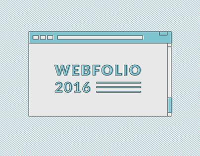 "Check out new work on my @Behance portfolio: ""Webfolio 2016"" http://be.net/gallery/46432279/Webfolio-2016"