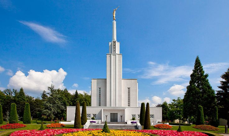 Springtime in Bern, Switzerland at the LDS Temple - Beautiful Bern temple - visited it 2 spring ago with my family.