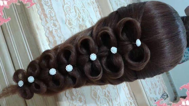 1000 images about peinados on pinterest fishtail - Peinados de fiesta cabello largo ...
