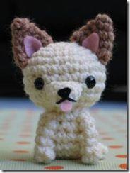 cute little crochet chihuahua (free pattern)