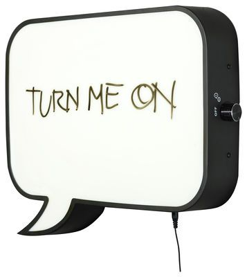 Snakkes Wall light - LED / memo board Black by Northern Lighting - Design furniture and decoration with Made in Design