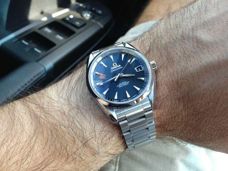 Omega Aquaterra Blue