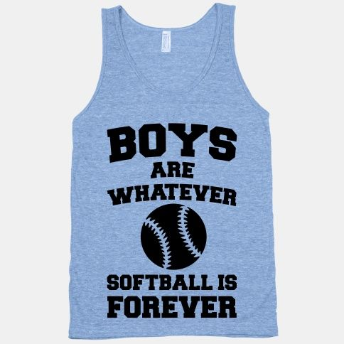Boys Are Whatever Softball Is Forever | HUMAN