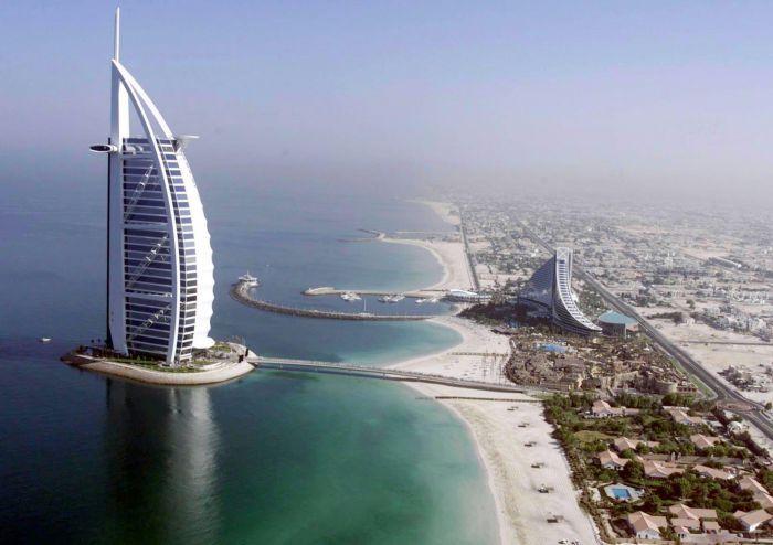 Spiaggia di Jumeral Beach - Dubai, Emirati Arabi