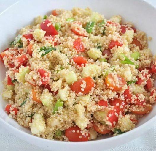 Quinoa con verdure.