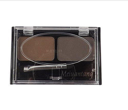 Fashion Professional Makeup Eyebrow Shading Powder Palette 2 Color Coffee Cosmetic Brush Kit. Description: Can last for all day long, gives lasting color naturally beautiful look Creates brows that are fuller, thicker, and more defined Perfect for both professional salon or home use Feel light and soft, easily create clear and brilliant eye makeup finish Portable and easy to use Size: Approx. 2.76 x 1.97 x 0.47 inch/70 x 50 x 12 mm Color: Light coffee, dark coffee Package Includes: 1 x...