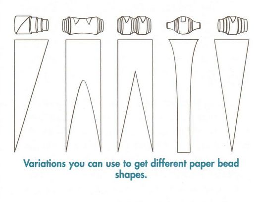 Patterns Paper Template Bead