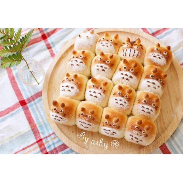 トトロちぎりパン