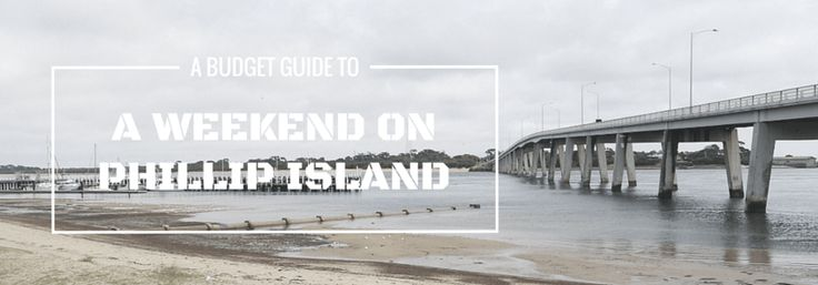 Phillip Island is the ideal destination for a weekend trip from Melbourne and did you know that by planning it yourself you can see more and spend less than you would on a day tour? Here I show you how.