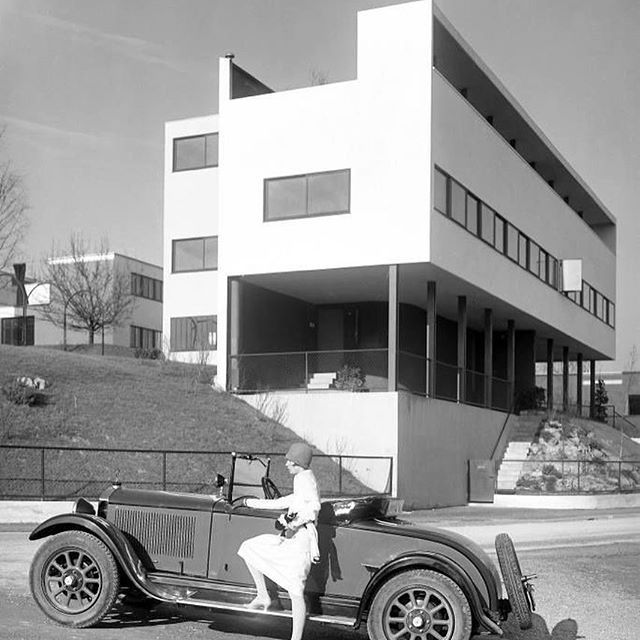 #Weißenhofsiedlung in #Stuttgart, Germany, 1927. Le #Corbusier and #MiesvanderRohe. Photo © Daimler