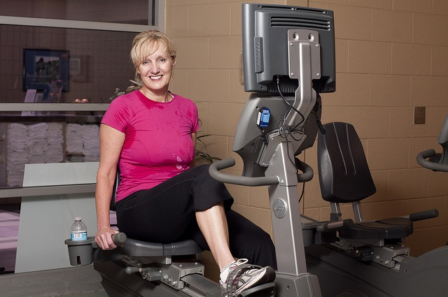 Regular exercise at the YMCA of Simcoe/Muskoka helps to maintain weight control