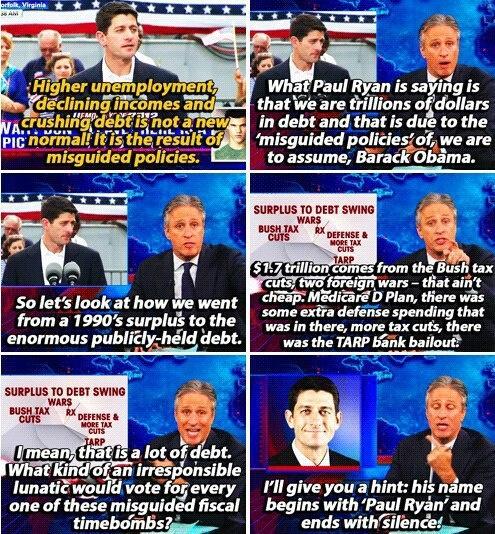 love Jon Stewart