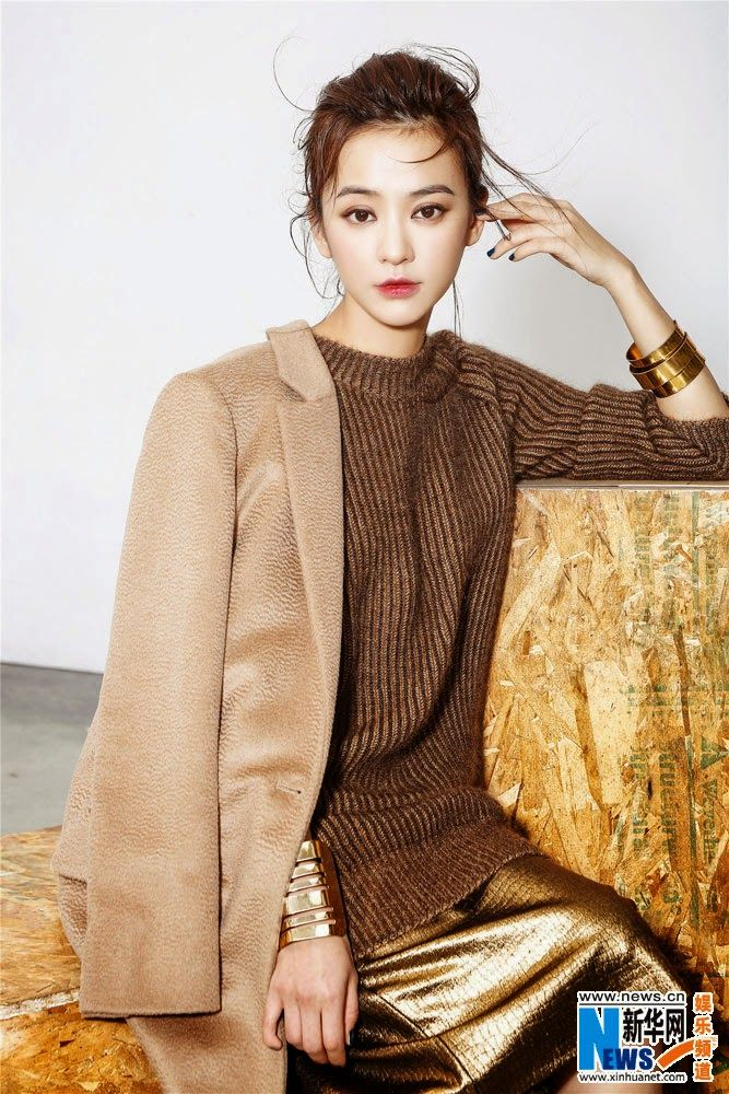 Ivy Chen poses for fashion photo shoot | China Entertainment News