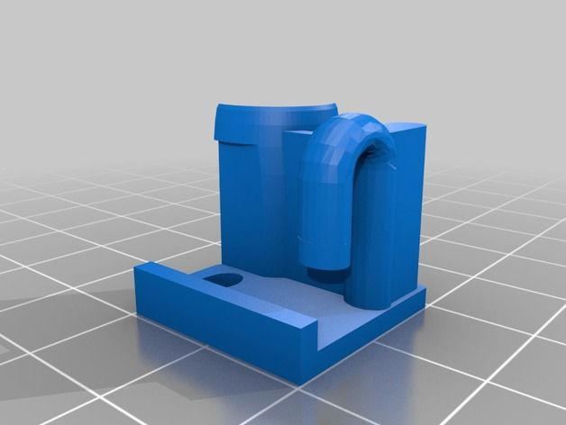 Ender 3 Filament Guide easy install by FlintWeiss