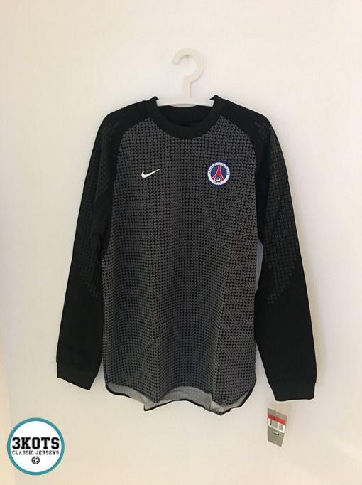 185e27668 eBay  Sponsored PSG Paris Saint Germain 2000 Goalkeeper Football Shirt (L) Soccer  GK Jersey NIKE