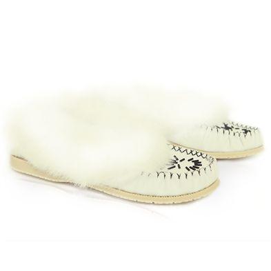 Qenhia | Women's Fur Moccasin Shoes - Free Shipping