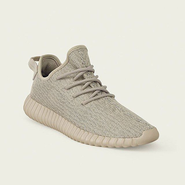 The Tan @adidasoriginals Yeezy Boost 350. Available in stores and online Tuesday.  Check out unlocked.footlocker.com/lauchlocator for stores and full release details.