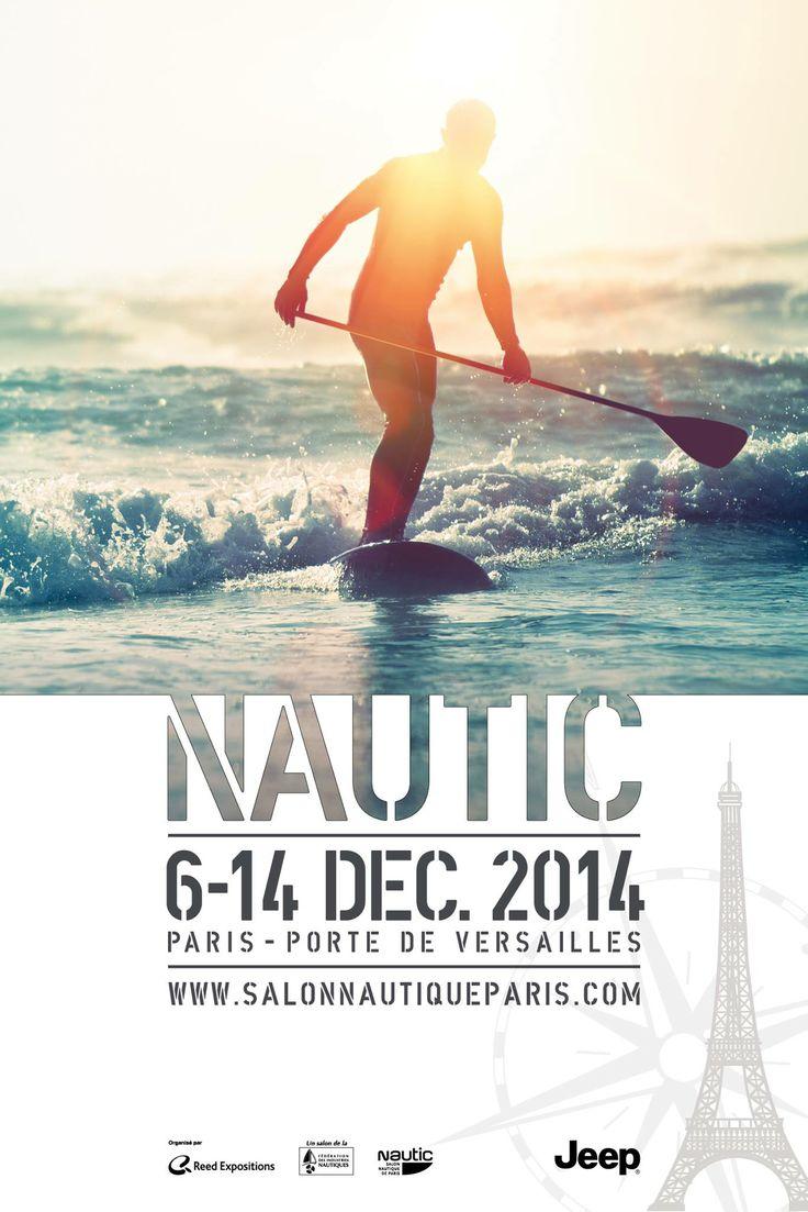 Exclusivité : le Nautic dévoile le 1er des 3 visuels 2014... #Glisse #Nautic2014 #SUP #StandUpPaddle #surf